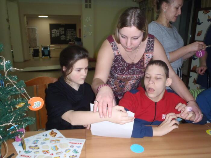 Поездка в детский дом