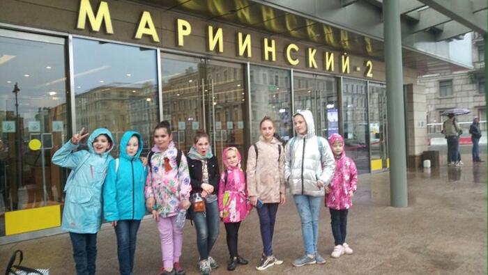 Наши ученики на сцене Мариинского театра