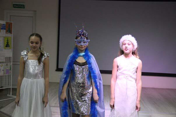 Новогодний конкурс «Мисс Снегурочка»