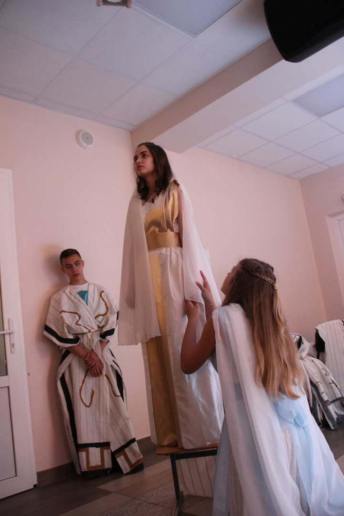 Cпектакль «Сон о Греции» по мотивам античной драмы