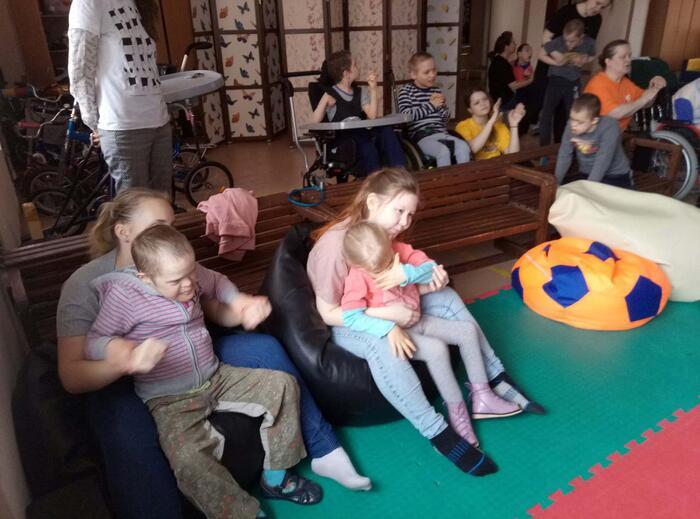 Посещение детского дома №4